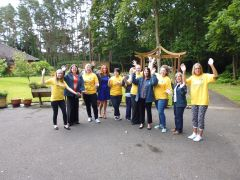 Heather House in Tadley gets fundraising help from  local occupational health provider