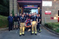 Tadley Fire Station Stretcher Carry On The 24th & 25th August 2018